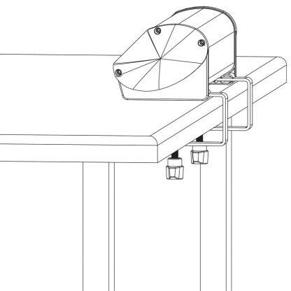Desk Clamp Diagram